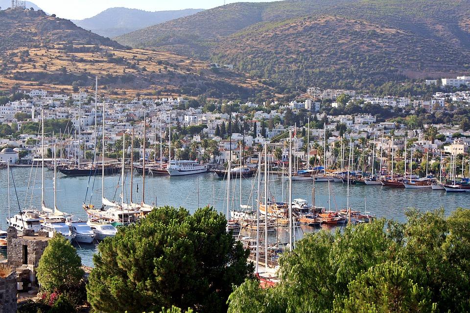 Bodrum, a török riviéra egyik legnépszerűbb turistacélpontja